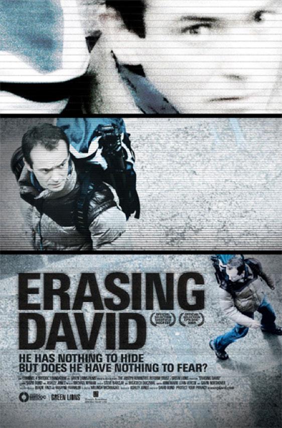 Erasing David Poster