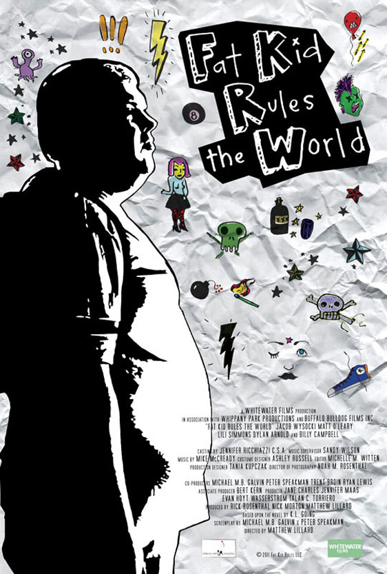 Fat Kid Rules the World Poster #1
