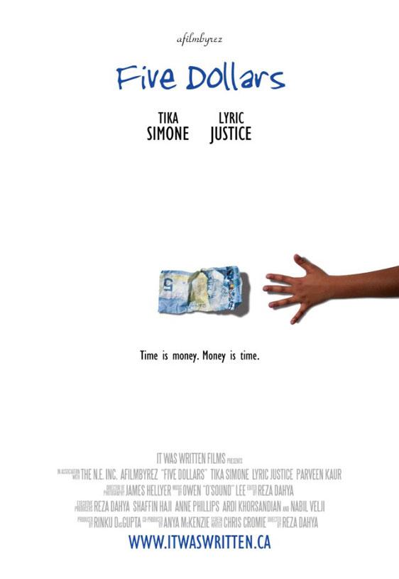 Five Dollars Poster #1