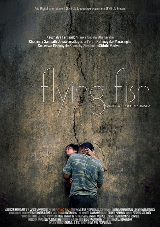Flying Fish (Igillena maluwo) Poster