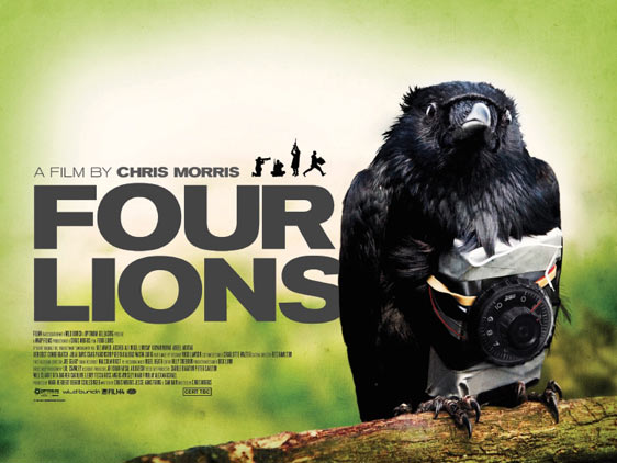 Four Lions Poster #1