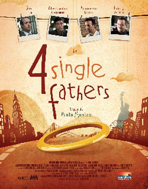 Four Single Fathers Poster