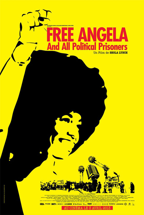Free Angela & All Political Prisoners Poster #2