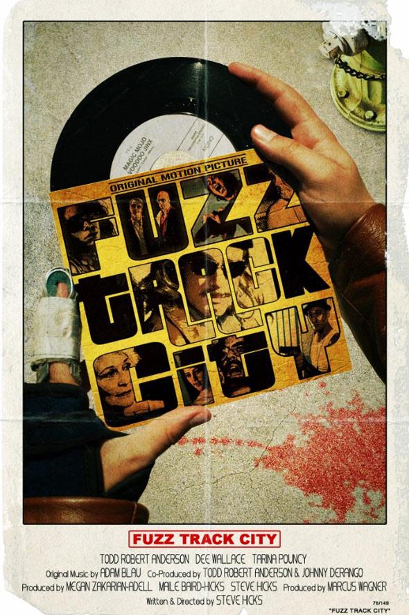 Fuzz Track City Poster #1