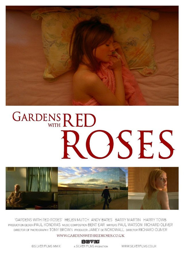 Gardens with Red Roses Poster #1