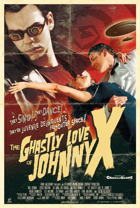 The Ghastly Love of Johnny X Poster #1