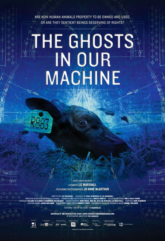 The Ghosts in Our Machine Poster #1