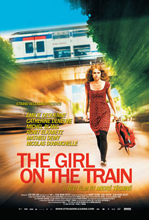 The Girl on the Train (La fille du RER) Poster #2