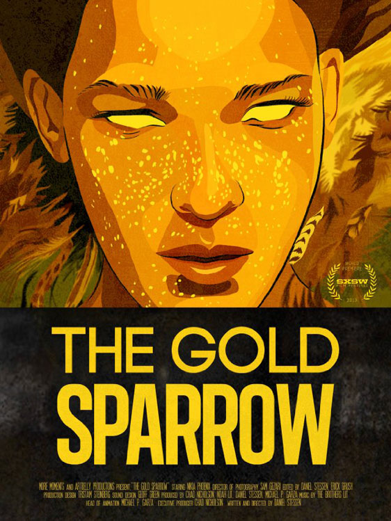 The Gold Sparrow Poster