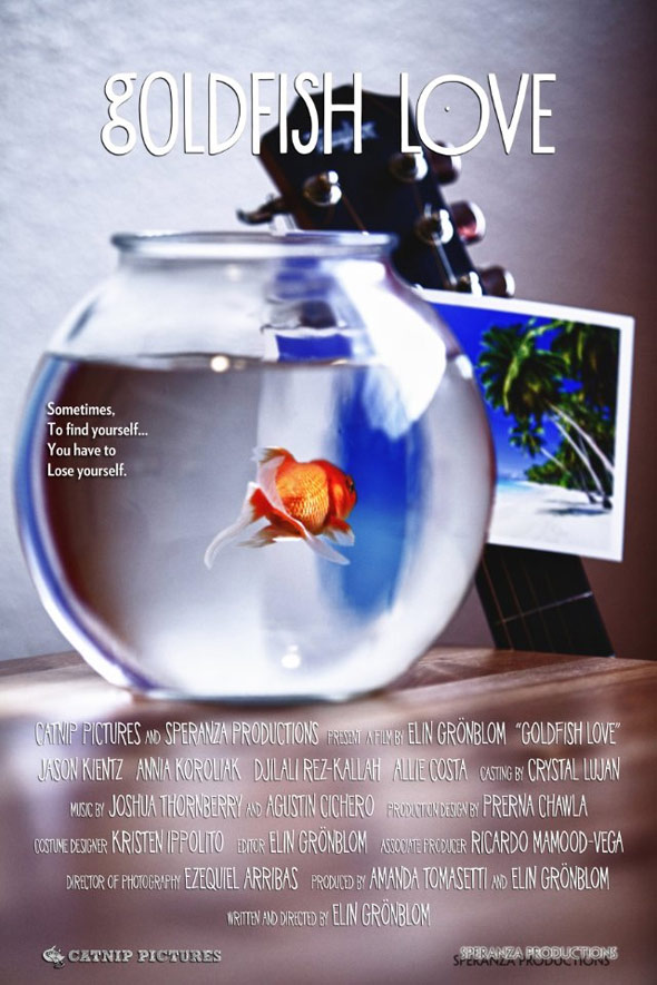 Goldfish Love Poster