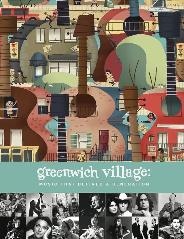 Greenwich Village: Music That Defined a Generation Poster