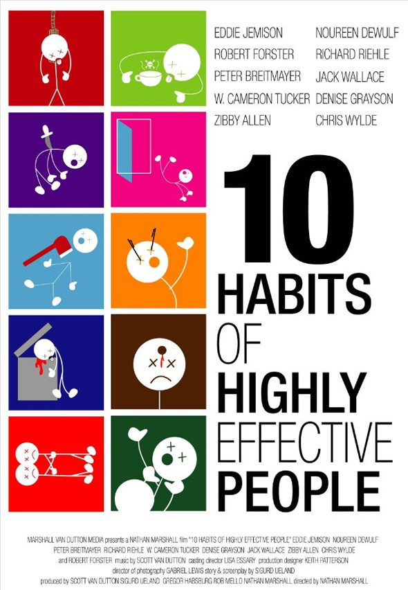 10 Habits of Highly Effective People Poster