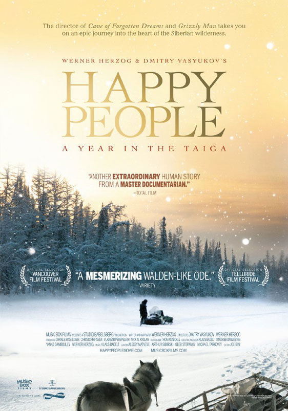 Happy People: A Year in the Taiga Poster #1