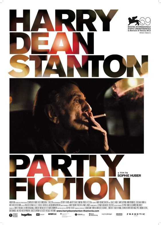 Harry Dean Stanton: Partly Fiction Poster