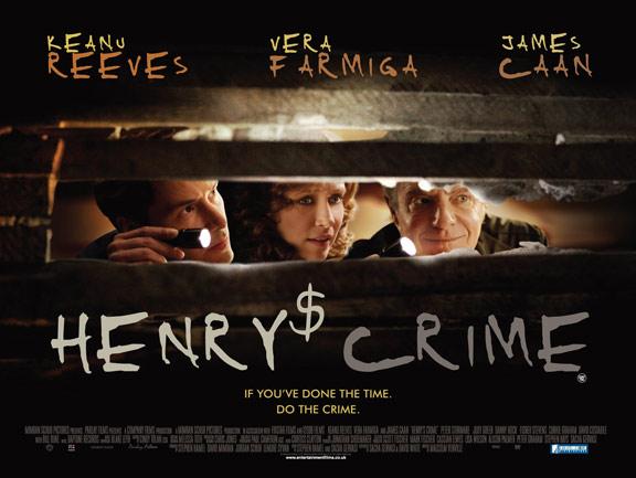 Henry's Crime Poster #1