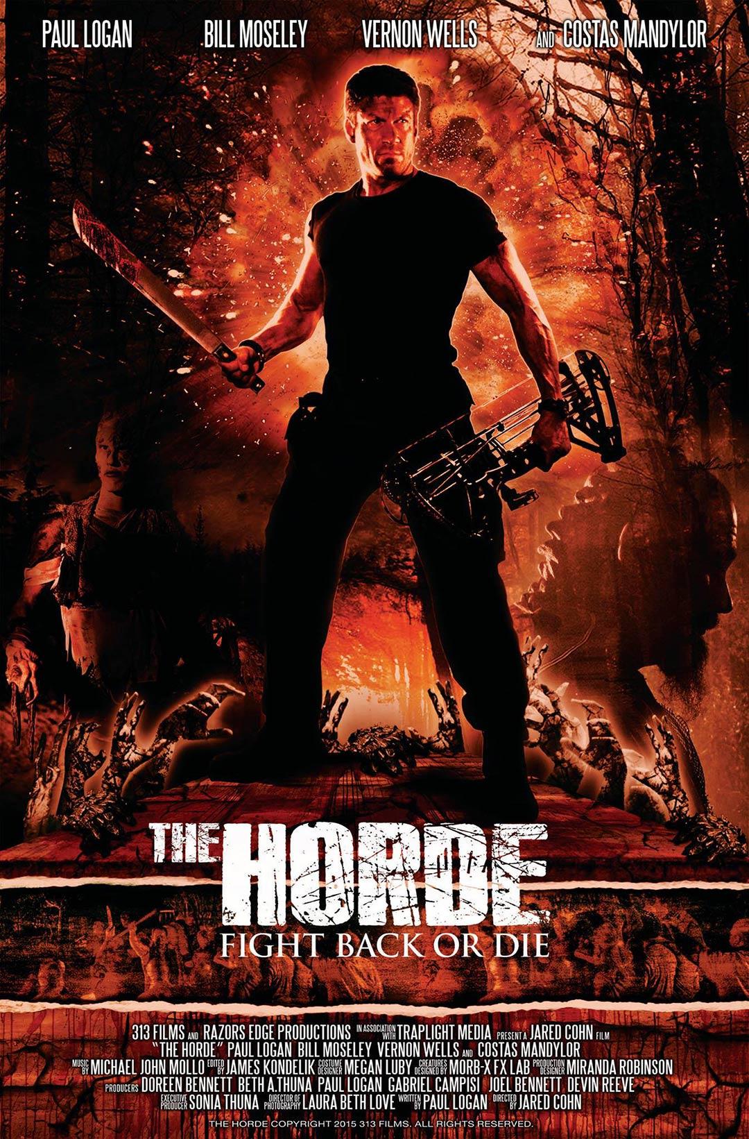 The Horde 2016 HDRip XviD AC3-EVO 1.3 GB