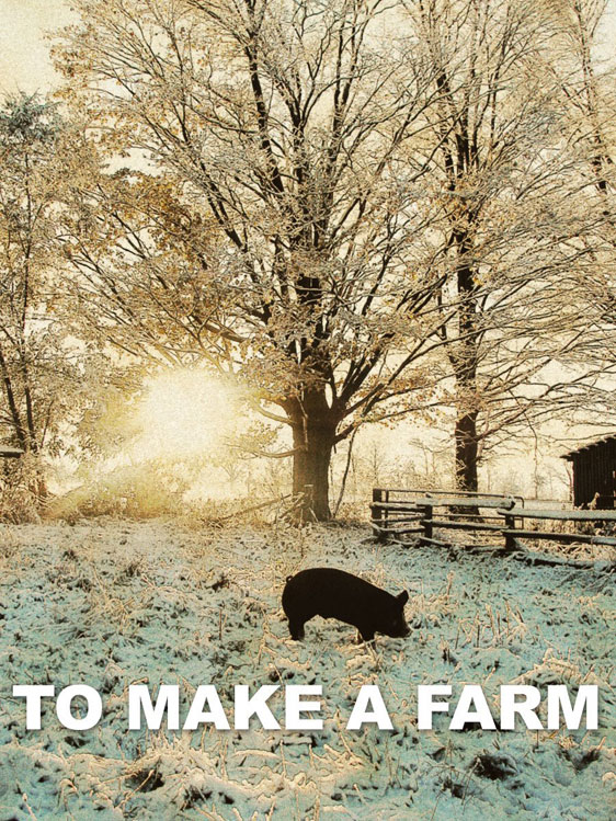 To Make a Farm Poster