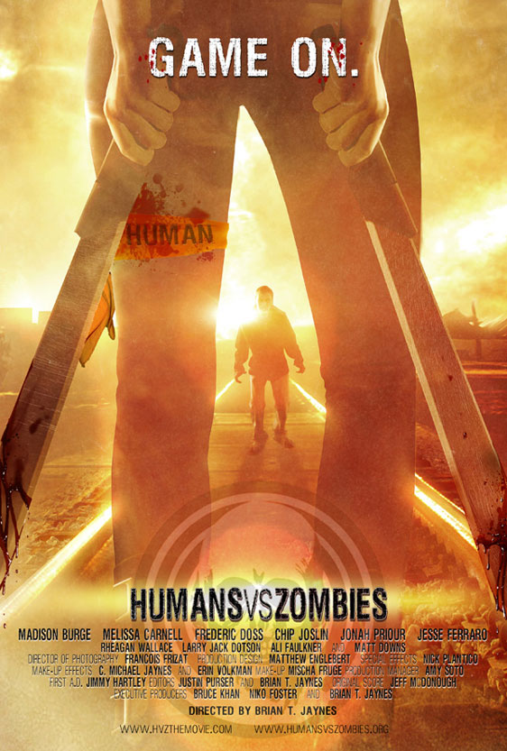 Humans Versus Zombies Poster #2