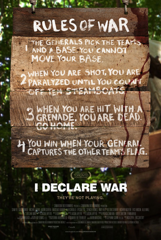 I Declare War Poster #4