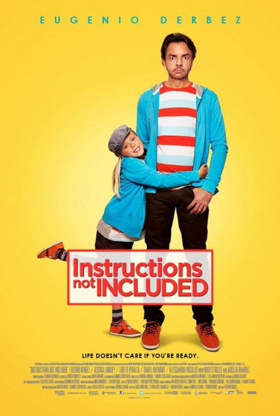 Instructions Not Included (Hombre de piedra) Poster