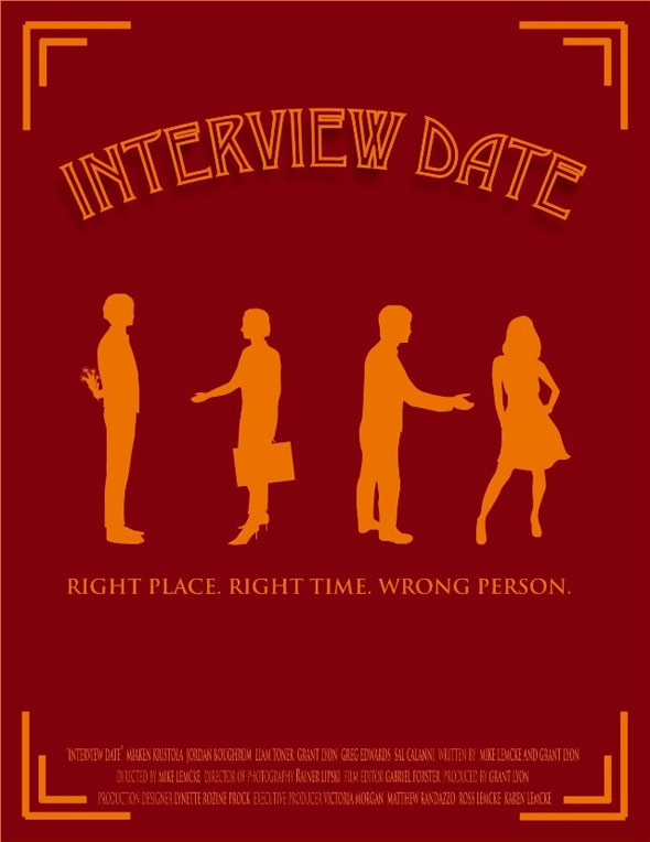 Interview Date Poster