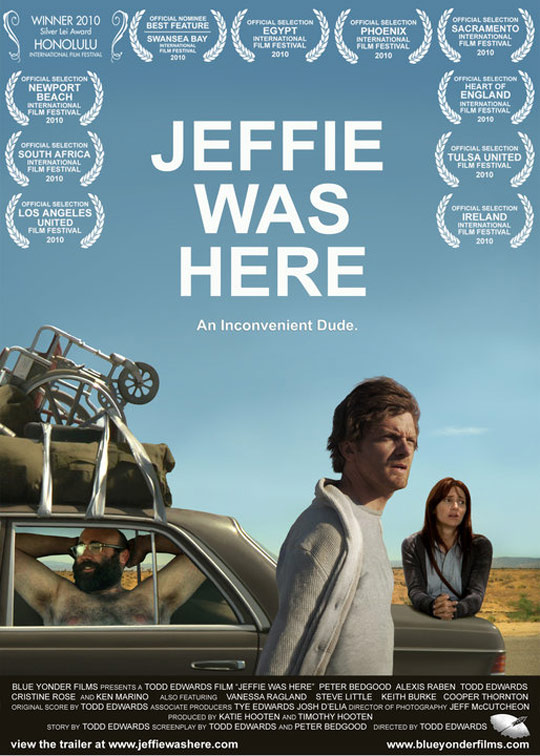 Jeffie Was Here Poster