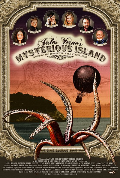 Jules Verne's Mysterious Island Poster