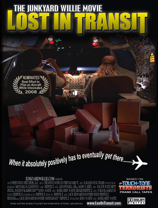 The Junkyard Willie Movie: Lost in Transit Poster