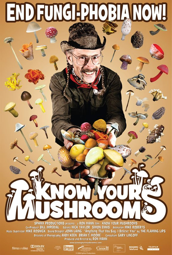 Know Your Mushrooms Poster