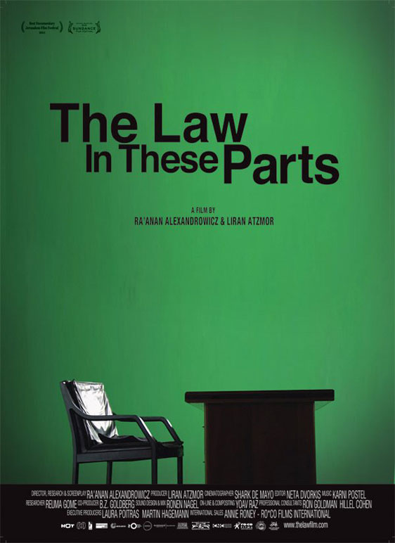The Law in These Parts Poster
