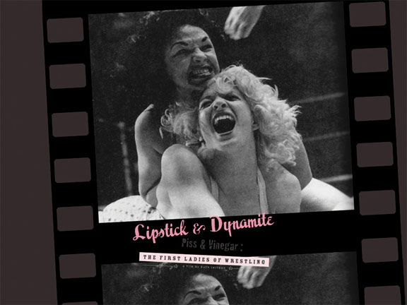 Lipstick & Dynamite Poster #2