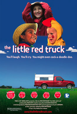Little Red Truck Poster #1