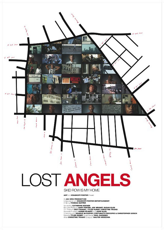 Lost Angels: Skid Row Is My Home Poster