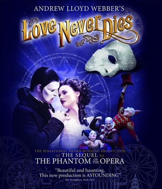 Love Never Dies Poster #1