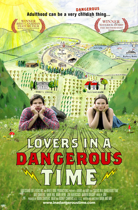 Lovers in a Dangerous Time Poster