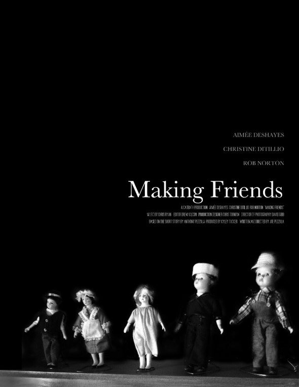 Making Friends Poster