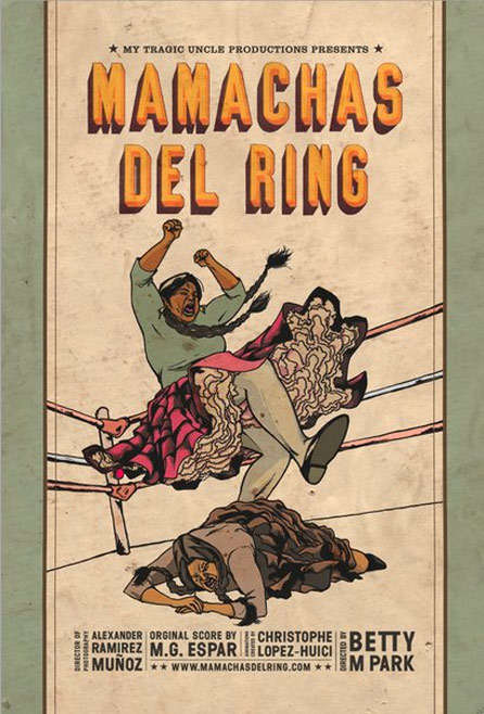 Mamachas del Ring Poster