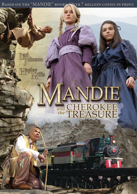 Mandie and the Cherokee Treasure Poster #1
