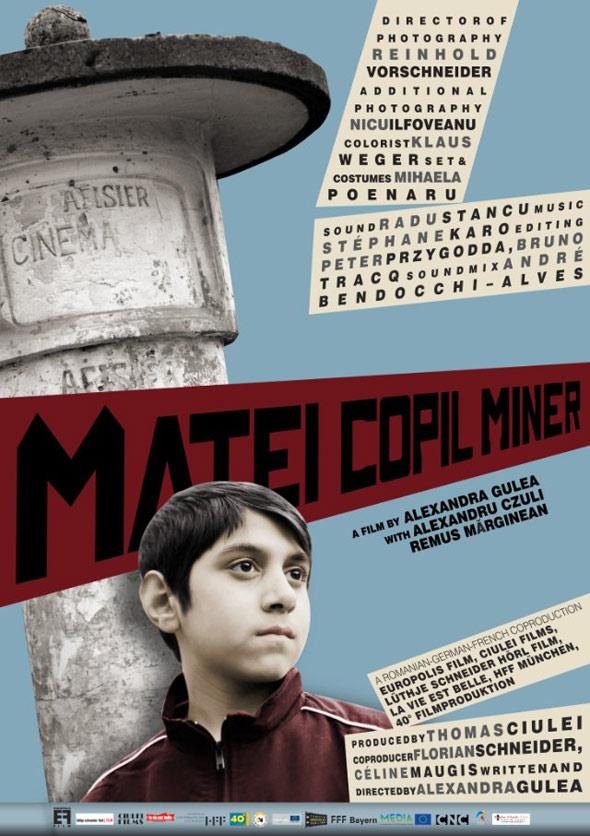 Matei Copil Miner Poster