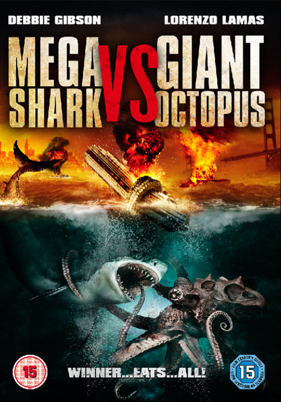 Mega Shark vs. Giant Octopus (2009) Posters - TrailerAddict
