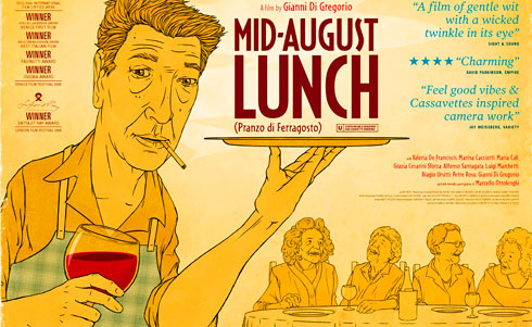 Mid August Lunch Poster #1