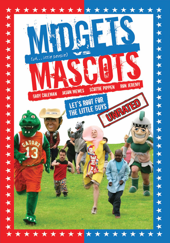 Midgets vs. Mascots Poster