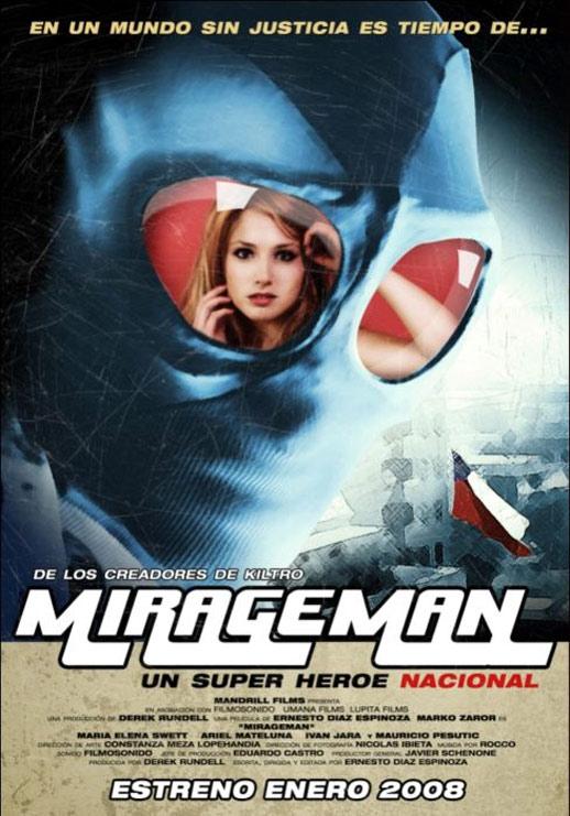 Mirageman Poster