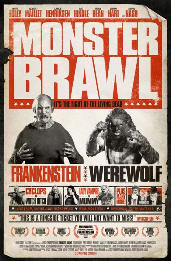 Monster Brawl Poster #2