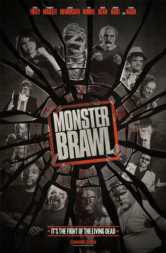 Monster Brawl Poster #1