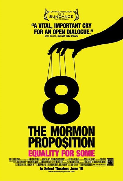 8: The Mormon Proposition Poster