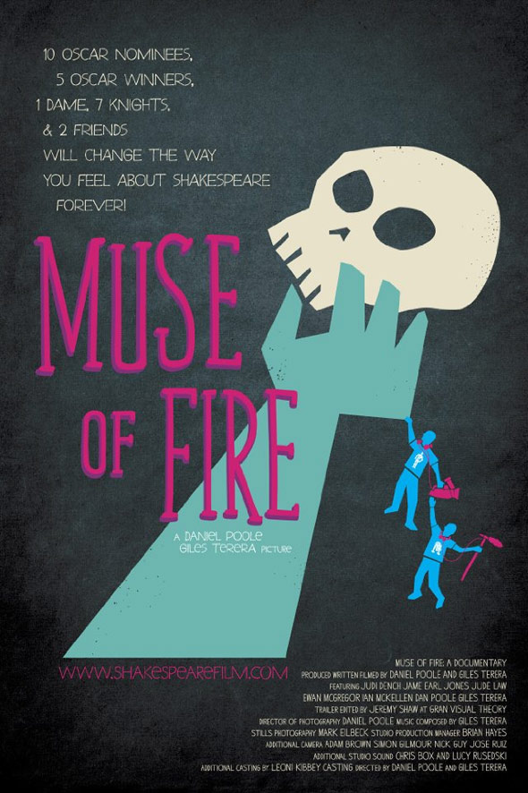 Muse of Fire: A Documentary Poster