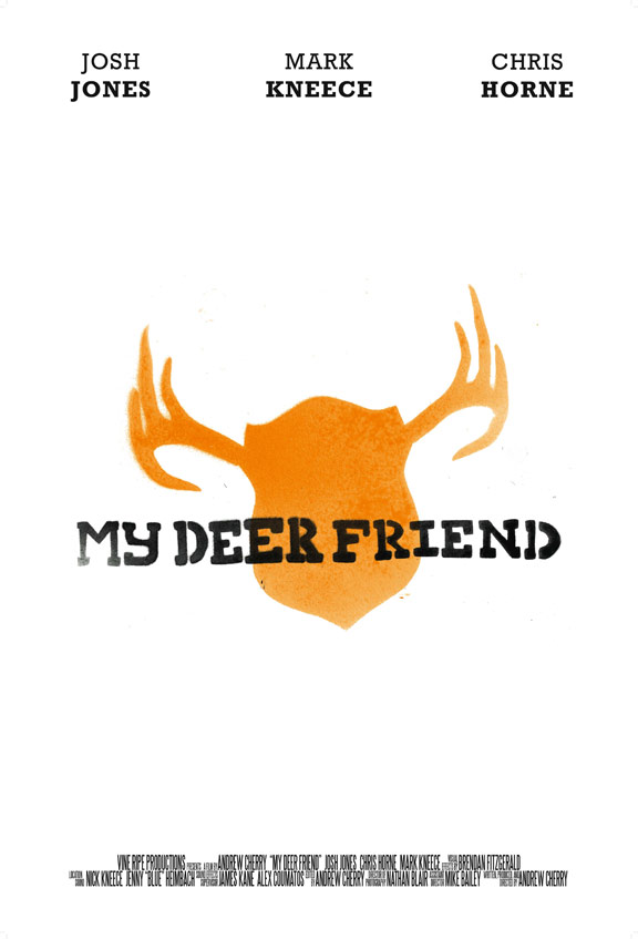 My Deer Friend Poster