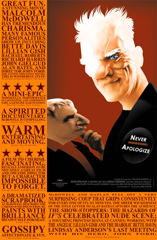 Never Apologize Poster #2