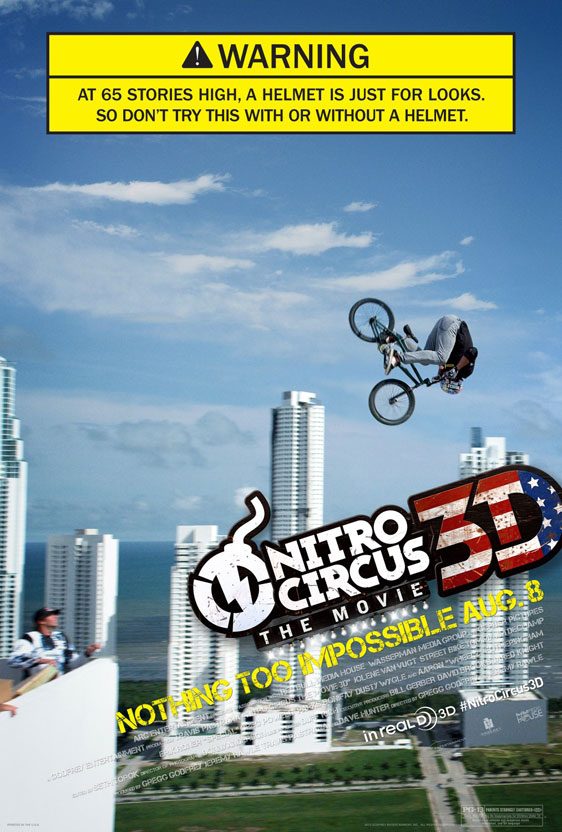 Nitro Circus: The Movie Poster #2